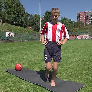 Kompenzační cvičení ve fotbale