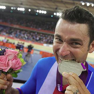 Jiří Ježek na paralympiádě v Londýně 2012